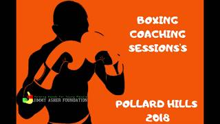 Hard boxing training for BOYS AND GIRLS