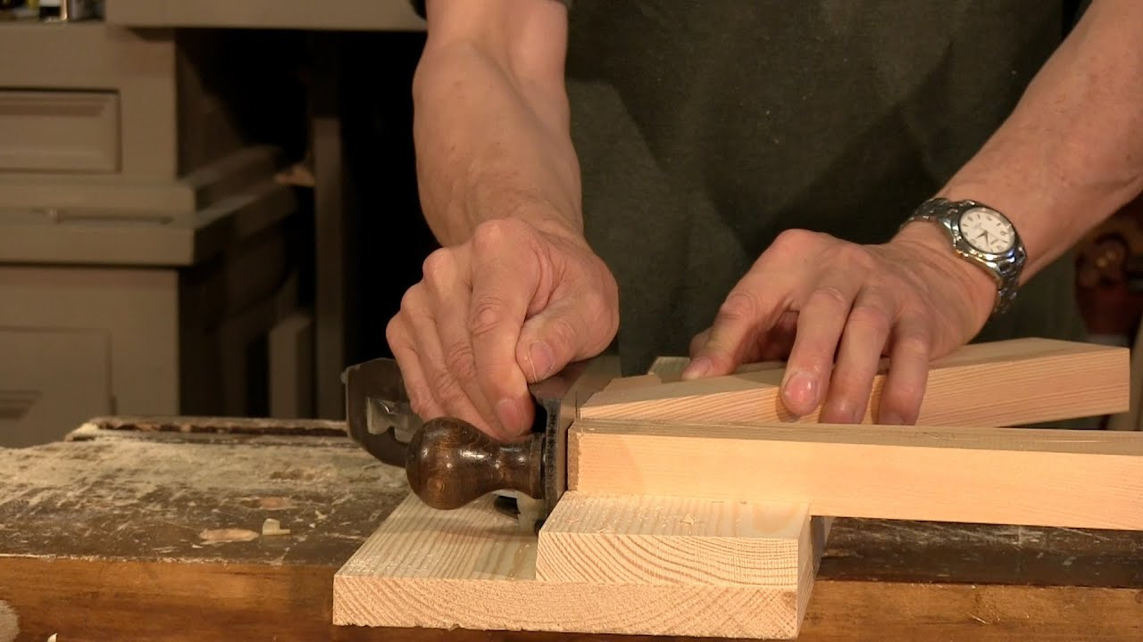 Paul Sellers How To Make A Shooting Board Youtube