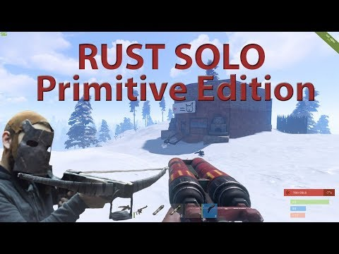 Rust |  Soloing Early Game | TURRET MAKES MAD PLAYS thumbnail