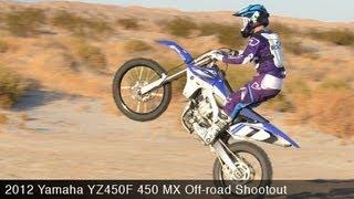 Motousa 450 Mx Off-road Shootout:  2012 Yamaha Yz450f