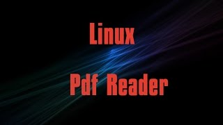 Best pdf reader in linux. (Evince) #2