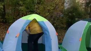 Зимние палатки Медведь - зонты однослойные.