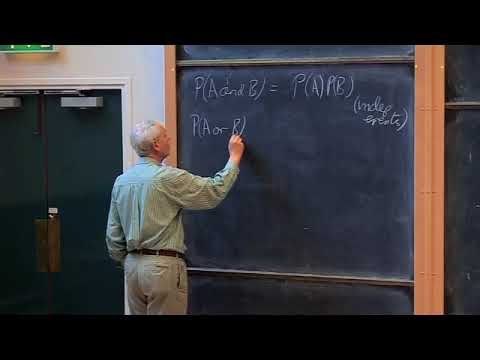 Oxford   Lecture 01 Introduction to Quantum Mechanics, Proba