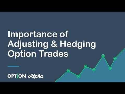 Importance of Adjusting & Hedging Option Trades