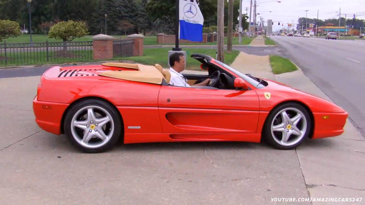 Red Ferrari 355 Spider! - YouTube