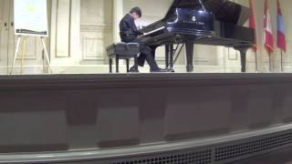 Montreal Piano Student, 10 performs at Carnegie Hall 2016 - Leo Wang