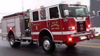 Fire Trucks Responding Compilation Part 31 - Firsts Of The Year