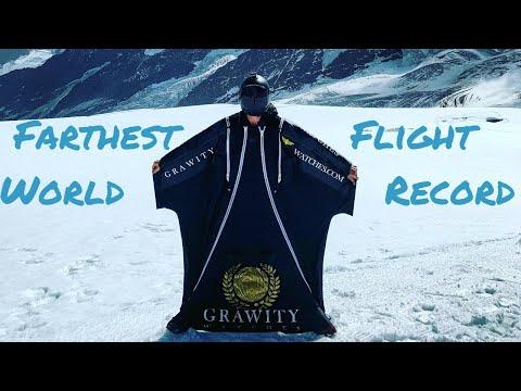 Farthest Wingsuit Flight World Record