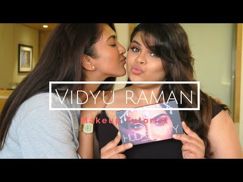 Makeup Tutorial on Vidyu Raman | Vithya Hair and Makeup Artist