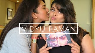 One of Vithya Hair and Make Up's most viewed videos: Makeup Tutorial on Vidyu Raman | Vithya Hair and Makeup Artist