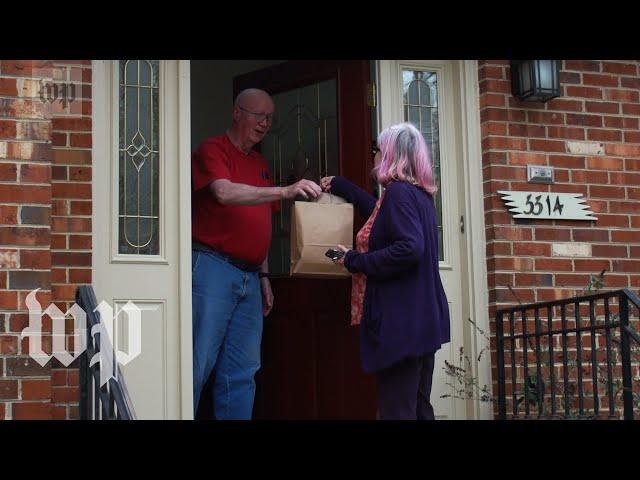 With coronavirus fears, volunteers deliver meals to the elderly