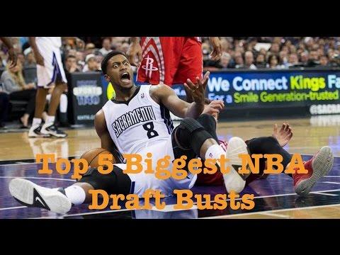 Top 5 Biggest NBA Draft Busts