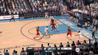 NBA LIVE 16 Amazing game winner
