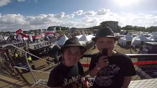 August & Isak - Intervju med ROCKERS på SWEDEN ROCK FESTIVAL 2017 (VIP-området)