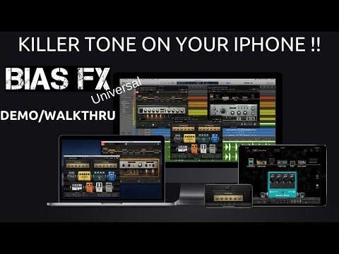 Bias FX Universal Tutorial   Killer Tone for your iPhone   Demo   Walkthrough