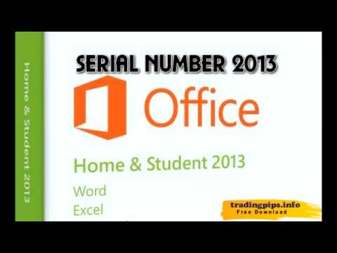 MS office 2013 serial key - YouTube