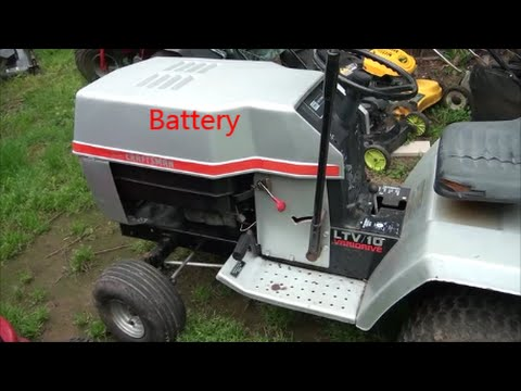 easy wiring a riding lawnmower how to wire your riding lawn mower rh youtube com Ford Tractor Solenoid Wiring Diagram simple diesel tractor wiring diagram