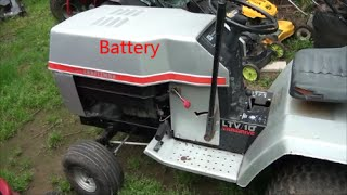 Riding Lawn Mower Electrical System, Craftsman 18hp Lawn Tractor Wiring Diagram