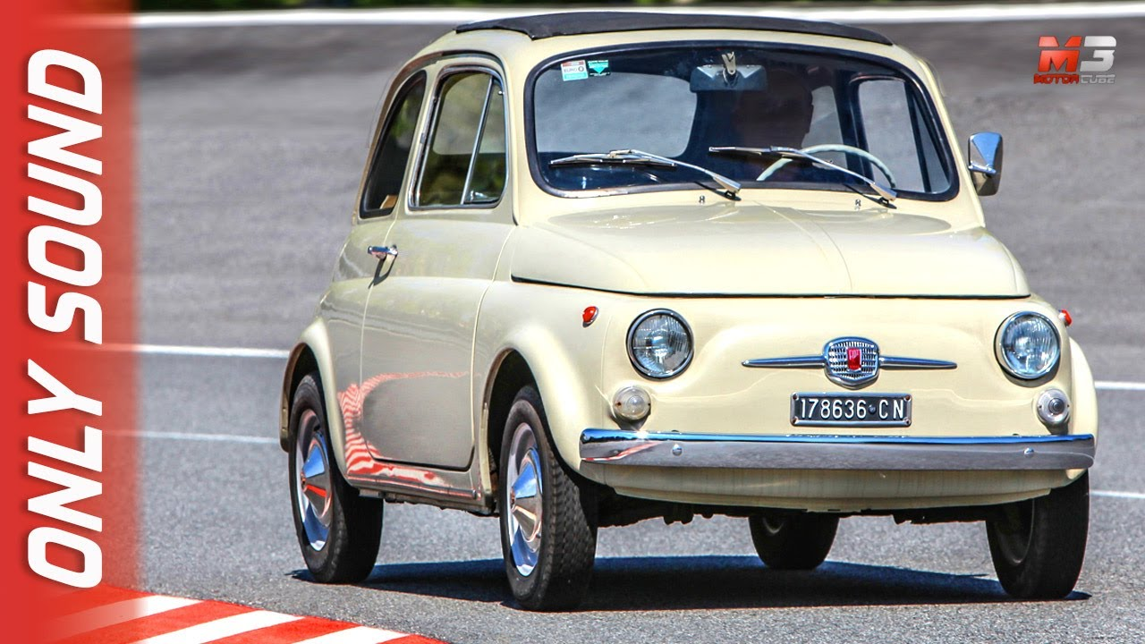 Fiat 500 F 1965 - First Test Drive Only Sound