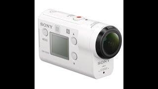 Розпакування SONY FDR-X3000