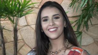 Tereza Laís fala da preparação para representar Limoeiro no Miss Ceará Latina