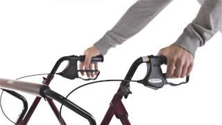 Produktvideo zu Rollator Drive Medical GoLite 200 XXL