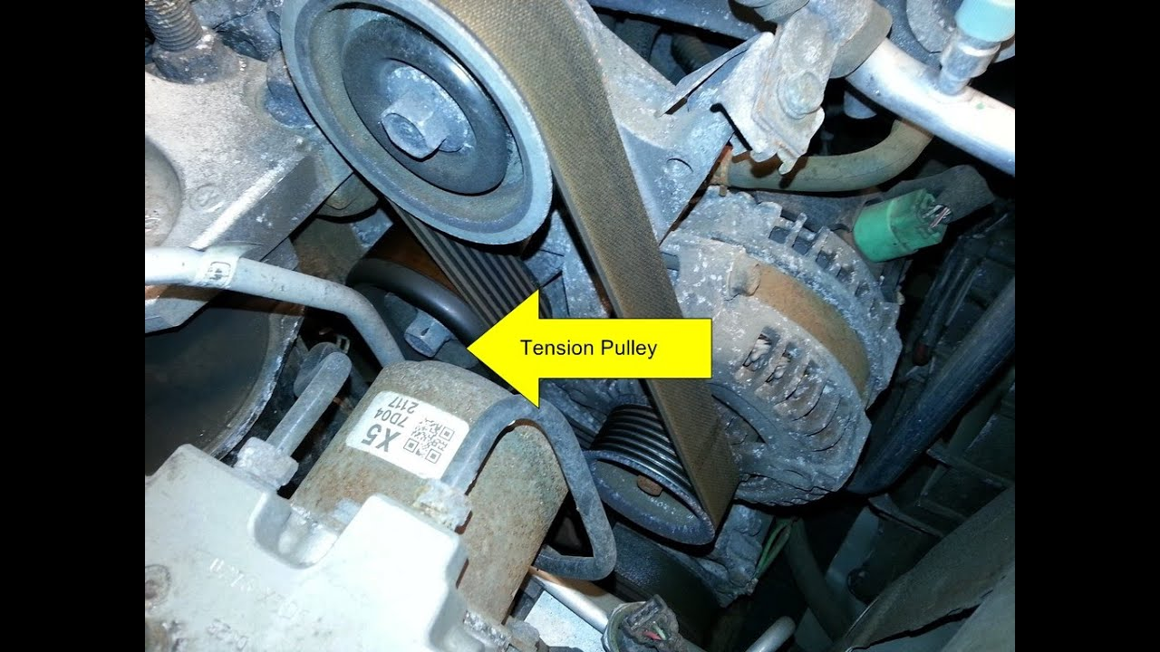 Honda Civic Si Idler Pulley & Tensioner Pulley Replacement DIY (20062011 Si)  YouTube