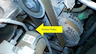 Honda Civic Si Idler Pulley & Tensioner Pulley Replacement DIY (2006-2011 Si)