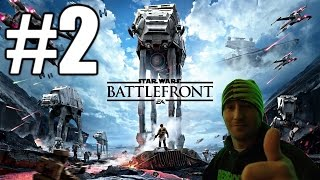 Star Wars Battlefront Beta Gameplay #2 - Tie Fighter (PC)