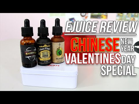 Ejuice Reviews : Vbox Special Edition and SURPRISE!