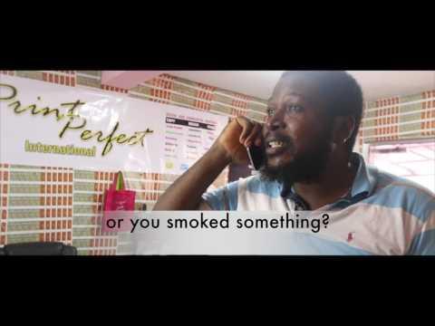 igbo Comedy - Onye Iwe ( Printing Stress)