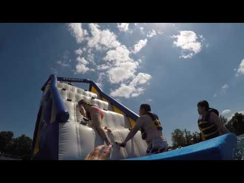 Brownstone Exploration Park 3 Climbing Floating Steps NYCAYS 07/05/2017