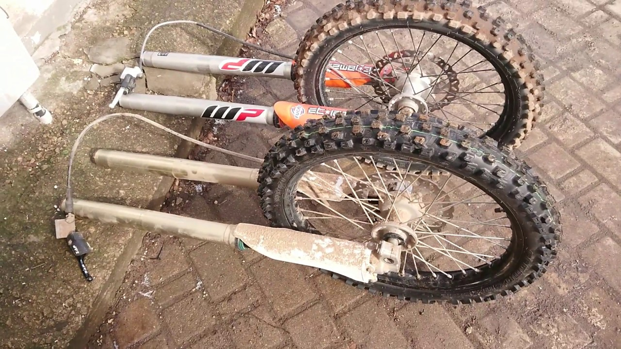 How to change KTM WP forks to KYB forks, easy way: