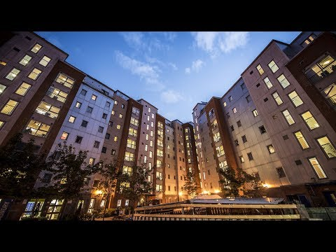Student accommodation at De Montfort University (DMU)