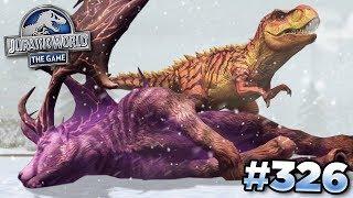 Taking Down The Purple Deer!!! || Jurassic World - The Game - Ep326 HD