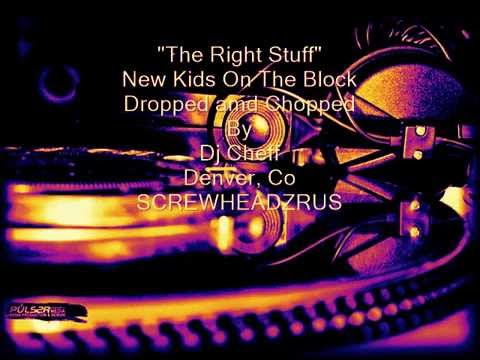 The Right Stuff - New Kids on The Block (Screwed and