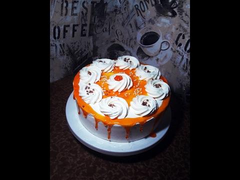 Торт апельсиновый рай