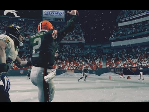 Johnny Manziel Cleveland Browns Madden Gameplay Highlights