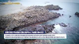 [드론으로 보는 문화재] 강동 화암 주상절리
