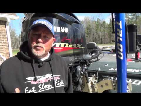 Outboard Initial Oil Change With Matt Herren