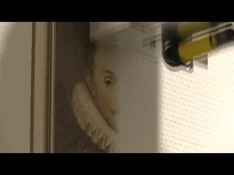 De printer wordt gebruikt om muren te printen