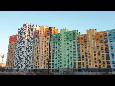 "ЖК ""Лучи"". Москва. Солнцево. 22 февраля 2020 г."