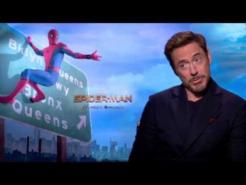 Robert Downey Jr. Spider-man Homecoming interview Iron Man
