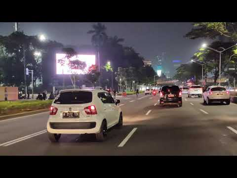 Jakarta at Night - 4K Video From Realme X2 Pro