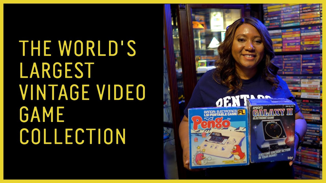 World's Largest Vintage Video Game Collection