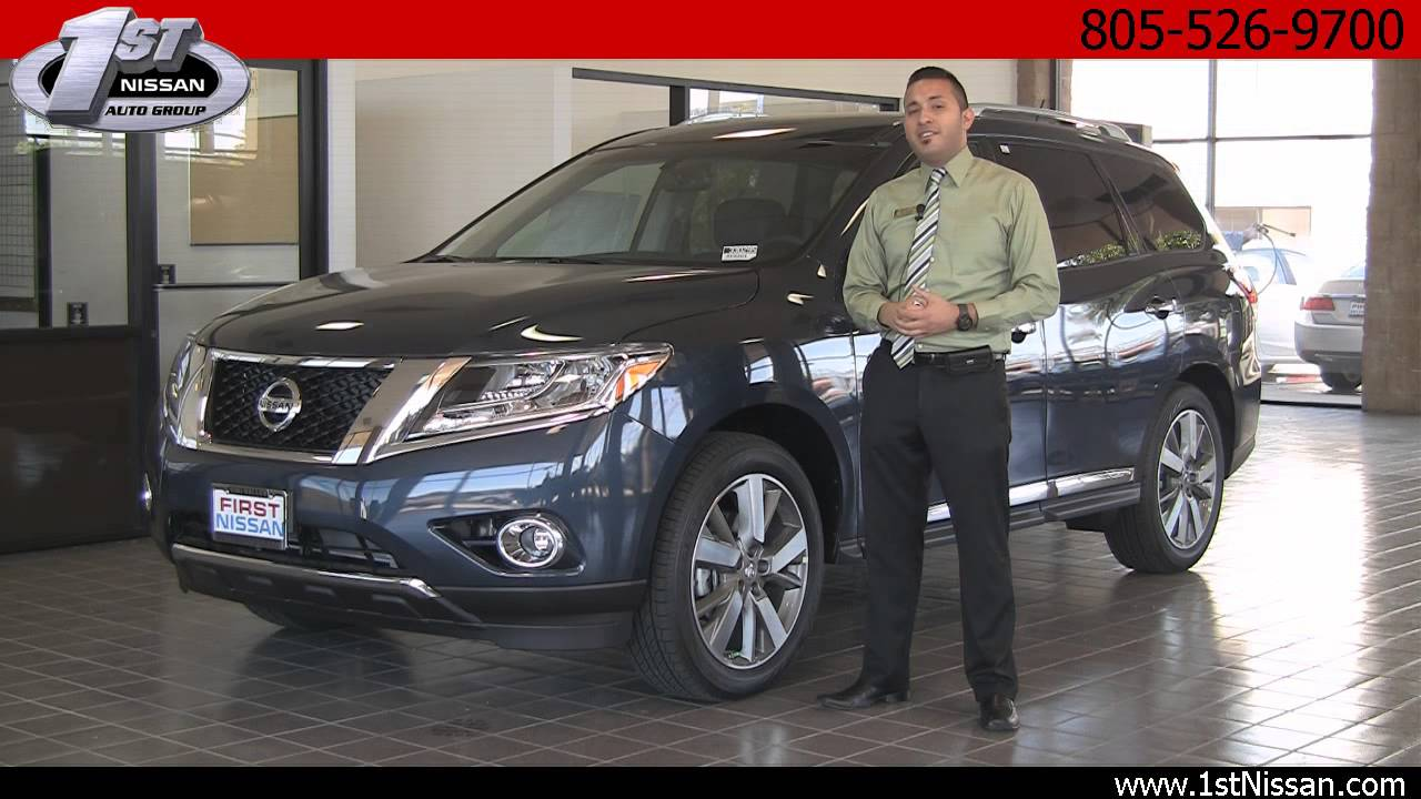 Nissan Simi Valley >> 2013 Nissan Pathfinder From First Nissan Simi Valley
