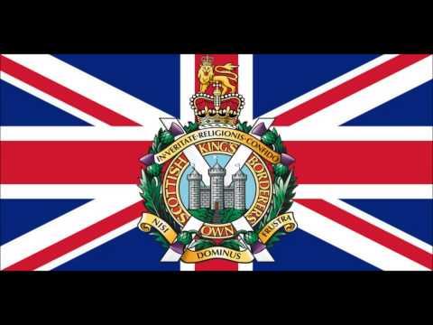 Kings Own Scottish Borderers - Blue Bonnets over the Border