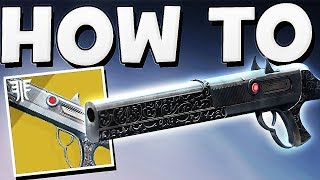Destiny 2 - How to Get Chaperone Exotic Shotgun (Full Quest Guide) !