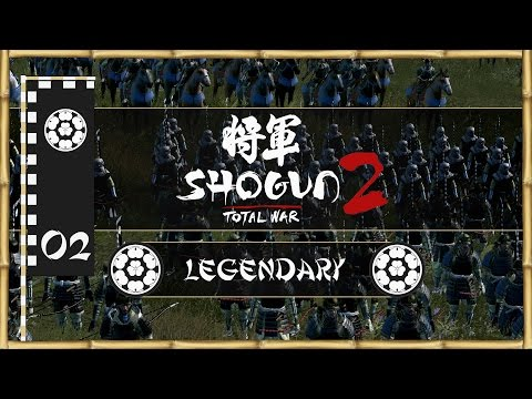 Let's Play Total War: Shogun 2 (Legendary) - Chosokabe - Ep.02 - Taking Shikoku!