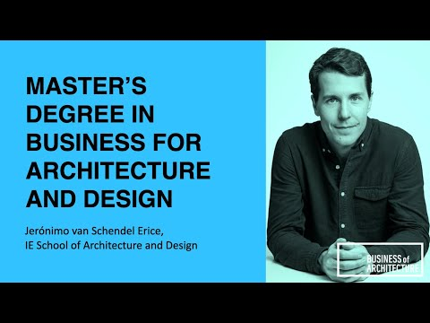 329: Master's Degree In Business For Architecture And Design With Jerónimo Van Schendel